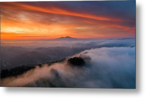 Diablo Rising Metal Print by Vincent James
