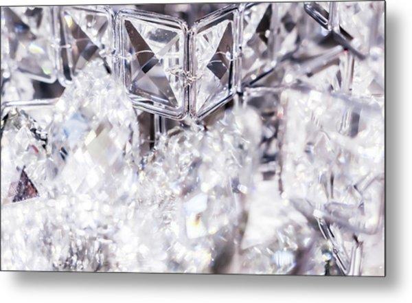 Diamond Shine V Metal Print