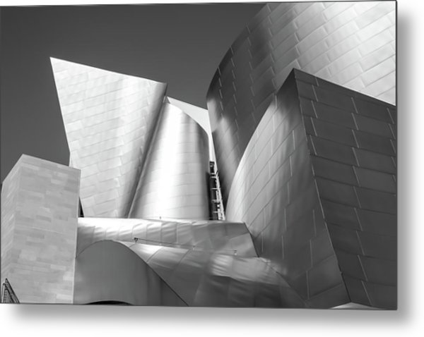Disney_concert_hall Metal Print