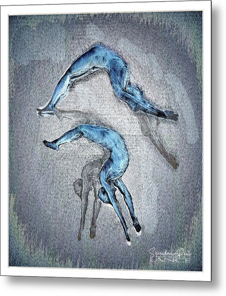 Dive Into Your Life Metal Print