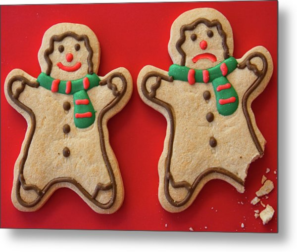 Metal Print featuring the photograph Do Cookies Have Feelings by Tatiana Travelways