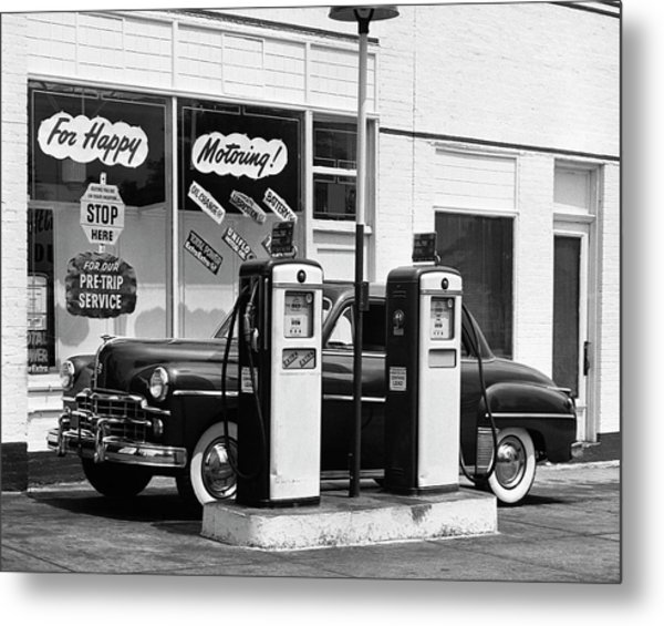 Dodge In Service Station Metal Print