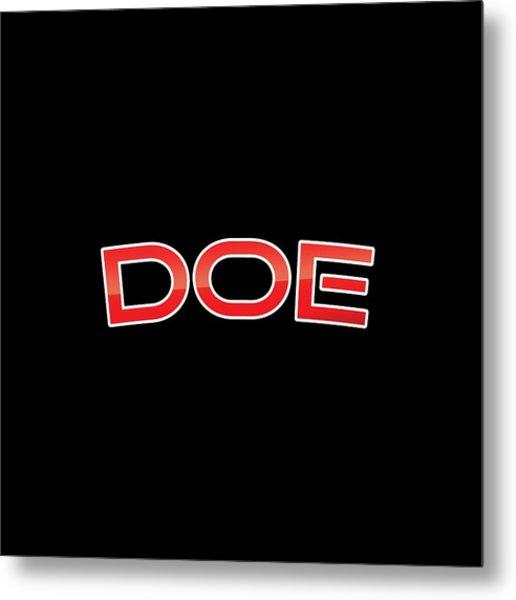 Doe Metal Print