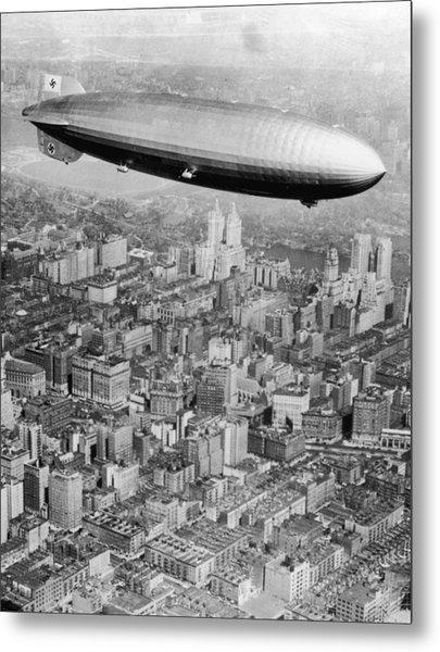 Doomed Airship Metal Print by Hulton Archive