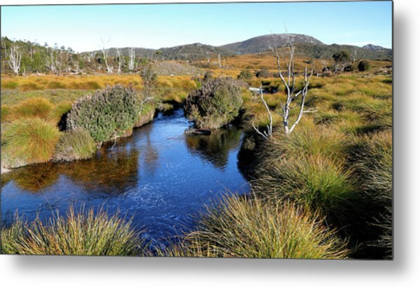 Metal Print featuring the photograph Dove River by Nicholas Blackwell