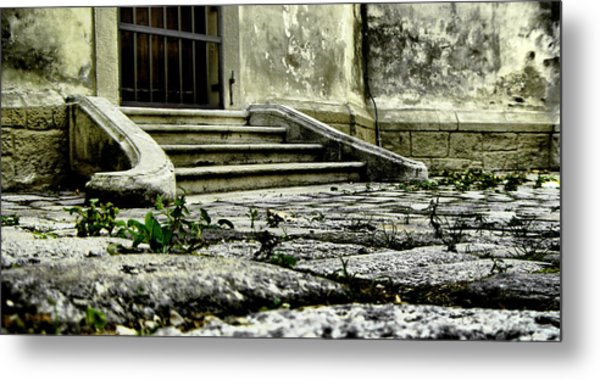 Down On The Floor Metal Print