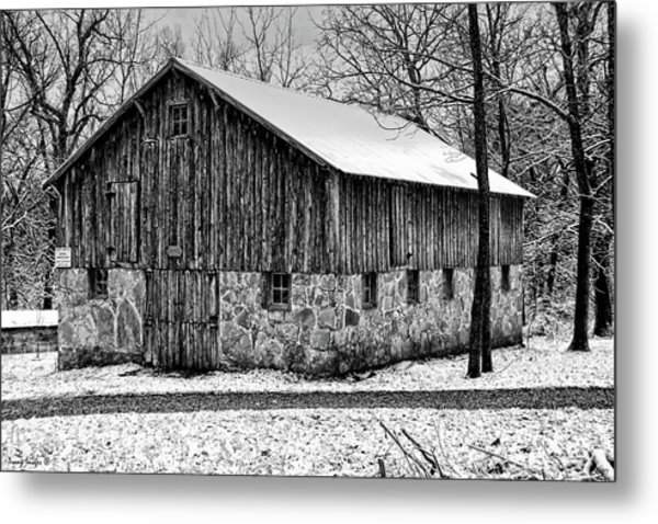 Down The Old Dirt Road Metal Print