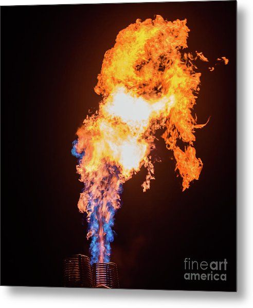 Dragon Breath Metal Print