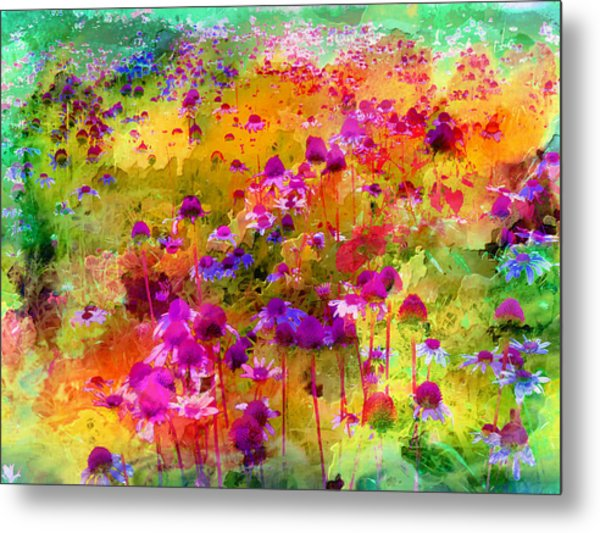 Dream Of Flowers Metal Print