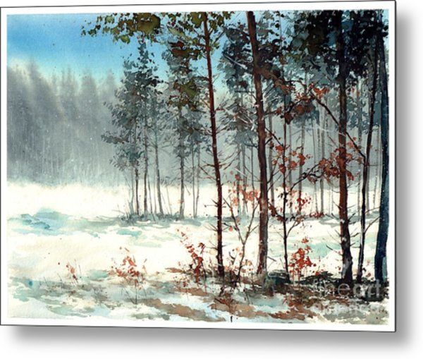 Dreaming Forest Metal Print