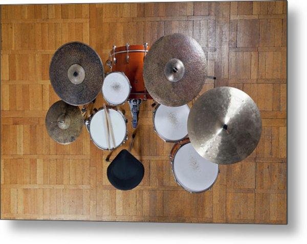 Drum Kit From Above by Halfdark