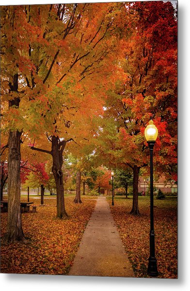 Drury Autumn Metal Print