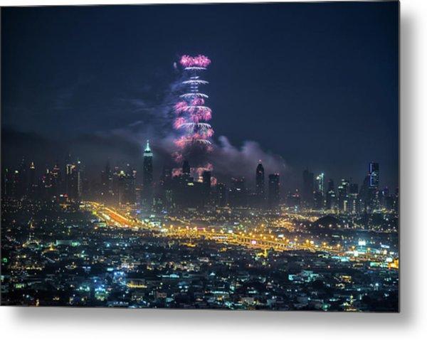 Dubai Metal Print by Harith Samarawickrama