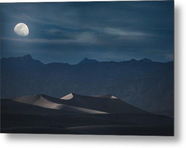 Dunes Of The Death Valley Metal Print