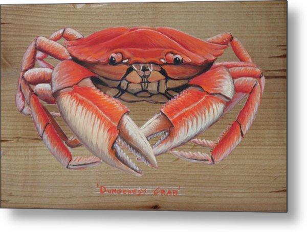 Dungeness Crab Metal Print