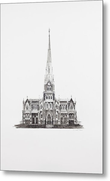 Dutch Reformed Church Graaff-reinet Metal Print