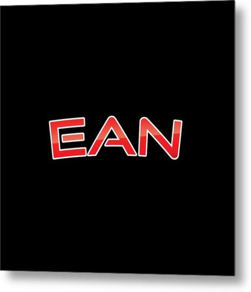 Ean Metal Print
