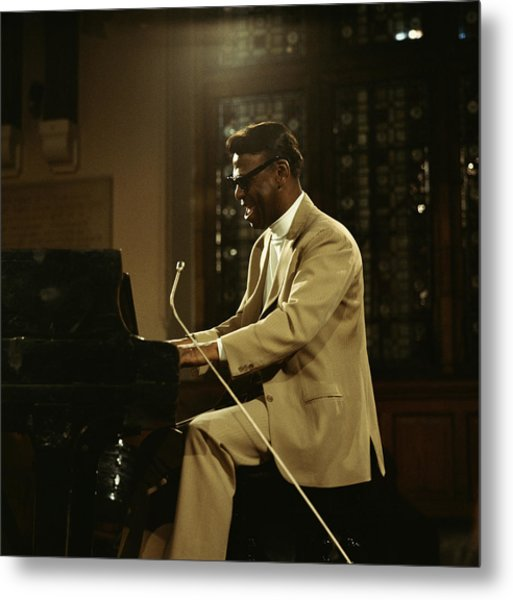 Earl Hines On Stage Metal Print by David Redfern