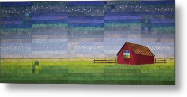 Early Morning Nine Patch Metal Print