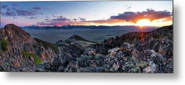 East Central Idaho Sunset Metal Print