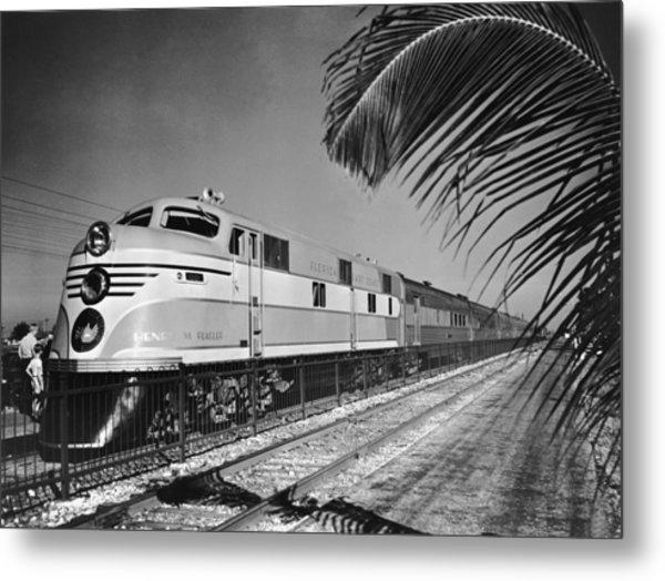 East Coast Train Metal Print by R. Gates