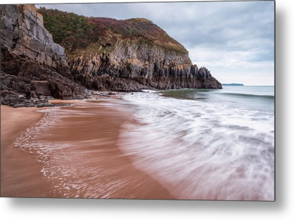 Metal Print featuring the photograph Ebb And Flow by Elliott Coleman