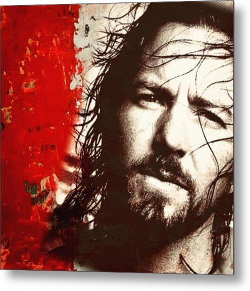 Eddie Vedder Metal Print