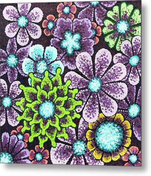 Efflorescent 12 Metal Print
