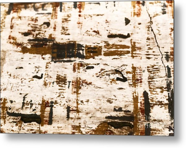 Metal Print featuring the tapestry - textile Egyptian Art by Sue Harper