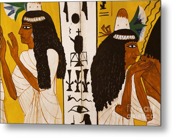 Metal Print featuring the photograph Egyptian Glory by Sue Harper