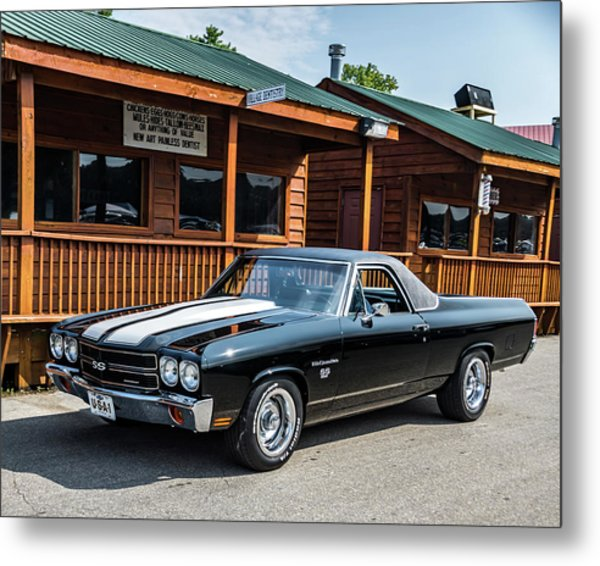 Metal Print featuring the photograph El Camino by Michael Sussman