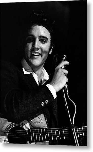 Elvis Presley Metal Print