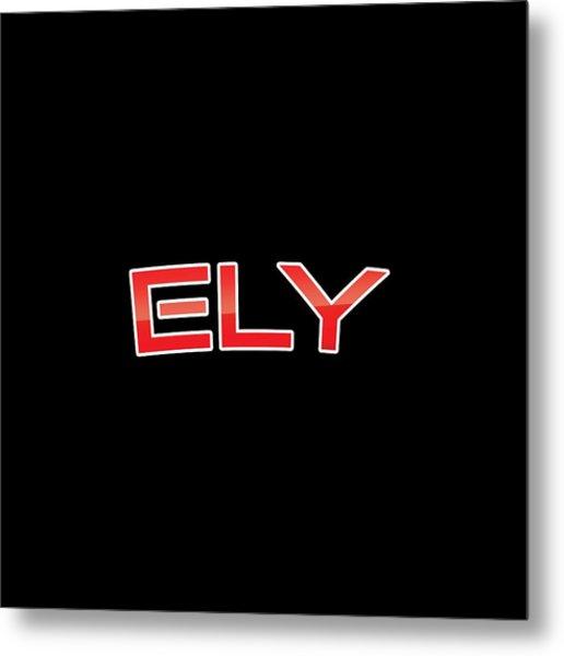 Ely Metal Print