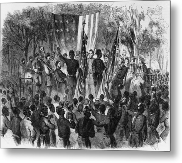 Emancipation Day Metal Print by Fotosearch