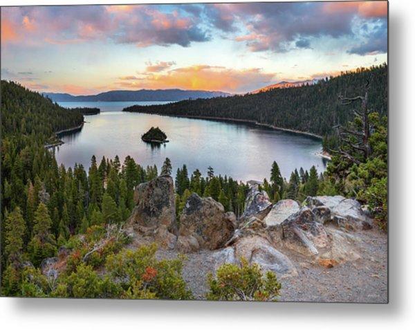 Emerald Bay Lake Tahoe Metal Print