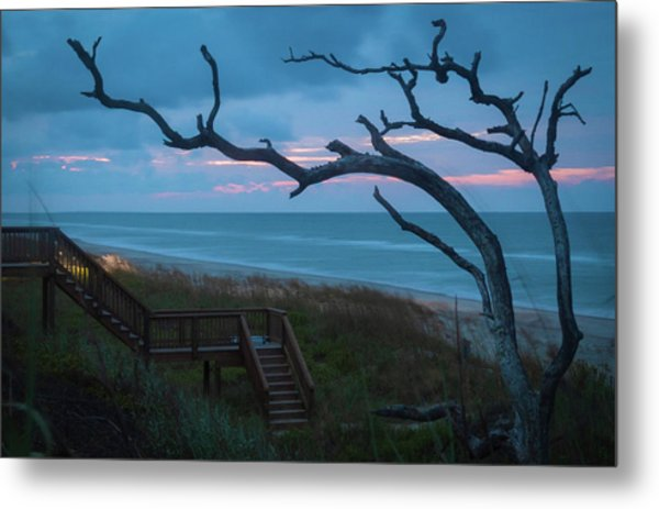 Emerald Isle Obx - Blue Hour - North Carolina Summer Beach Metal Print