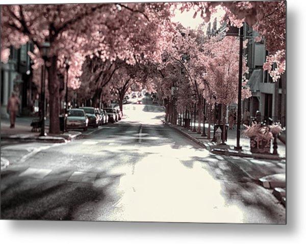 Empty Street Metal Print