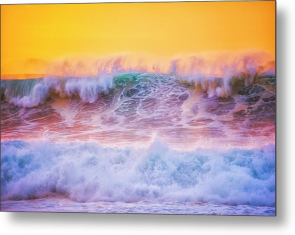 Endless Waves Metal Print by Fernando Margolles