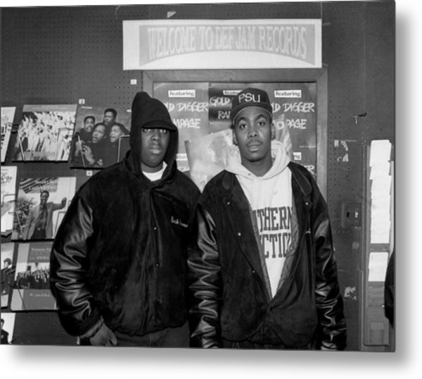 Epmd In Chicago Metal Print by Raymond Boyd