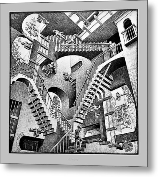 Metal Print featuring the photograph Escher 131 by Rob Hans