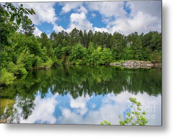 Euchee Creek Park - Grovetown Trails Near Augusta Ga 1 Metal Print