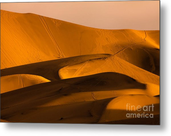 Eureka Dunes Area, Death Valley Metal Print
