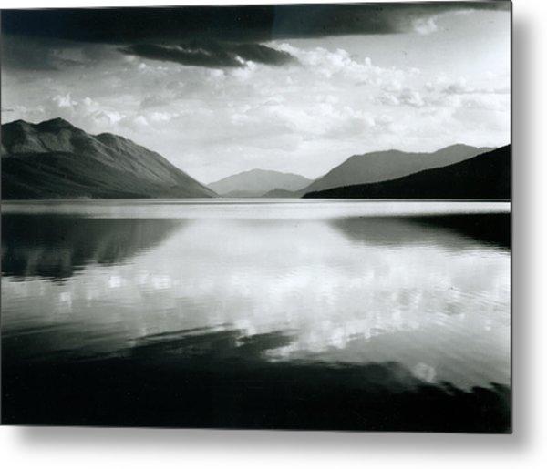 Evening, Mcdonald Lake, Glacier Metal Print