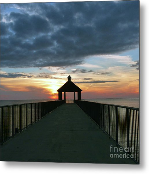 Evening Peace Metal Print