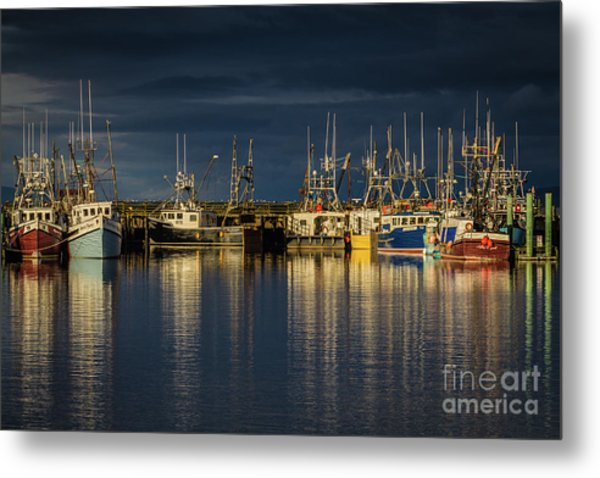Evening Reflections Metal Print