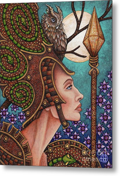 Exalted Beauty Athena Metal Print