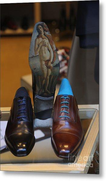 Expensive Men Shoe Nyc  Metal Print