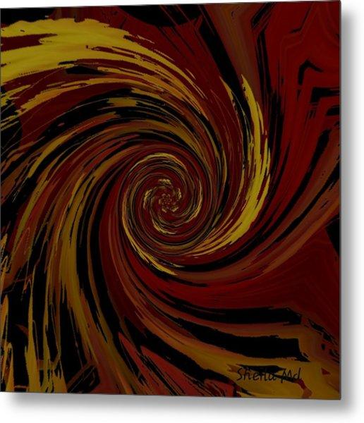 Explosion  Crossroad  Metal Print
