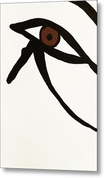Metal Print featuring the photograph Eye Of Egypt by Sue Harper