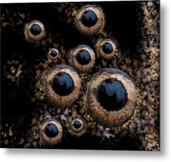 Eyes Have It 3 Metal Print